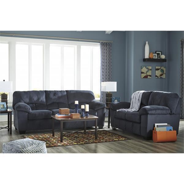 Ashley Furniture Brands: Ashley Dailey Midnight Sofa And Loveseat